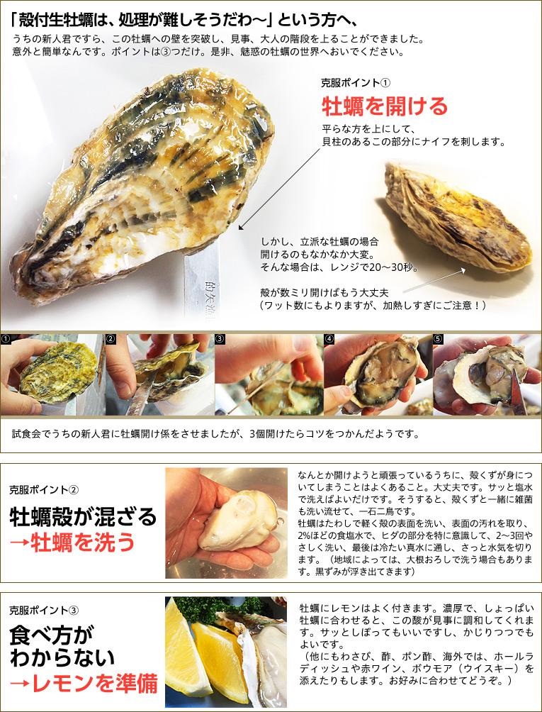 生 牡蠣 レンジ