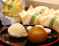 局屋立春 「庭の栗・柚子のしずくセット(小) 干菓子付」