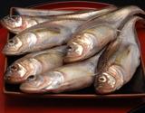 『ハタハタ メス(ブリコ入り)』 秋田県産 鮮魚 約1kg (10尾前後) ※冷蔵の商品画像