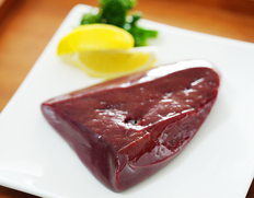 【鹿角短角牛】 レバー(ブロック) 約300g  ※冷蔵