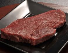 【鹿角短角牛・吊るし30日熟成】ランプ・ステーキ 約300g メス牛 [個体識別番号 JP1572408966] ※冷蔵