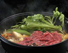 【熊本県肥育馬肉】まるよしの『極上馬肉のすき焼き鍋』セット (2〜3人用) ※冷蔵
