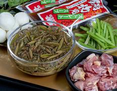 秋田県三種町産 「夏のじゅんさい鍋セット」3〜4人前 ※冷蔵