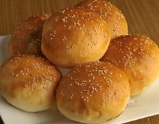 【北海道産小麦使用】ハンバーガー「バンズ」 約50g×6個 ※冷凍