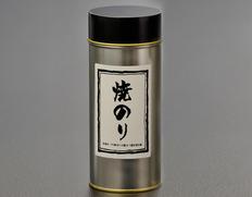 【お買い得】有明海産 初摘み焼海苔 3缶 丸缶(8切5枚×14袋)