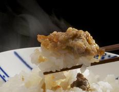 【老舗はたはた屋】三浦米太郎商店の 「はたはた・ご飯の素&塩漬け燻製」各1瓶セット