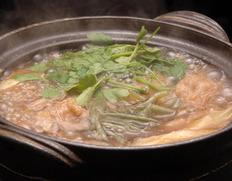 冬のじゅんさい鍋