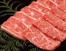 山勇畜産・【焼き肉用】飛騨牛5等級 上カルビ肉(ばら肉) 約500g ※冷凍