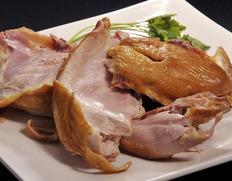 伊達の地鶏 『川俣シャモくんせいハーフ』(半羽 約600g) ※冷蔵