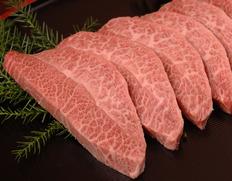 30日熟成 飛騨牛5等級 ミスジ 焼肉用 約300g【ウェットエイジング】 ※冷凍
