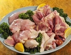 熊野地鶏オス(さばき1羽分・肝、心臓、砂肝、ガラ付・1.7㎏前後) ※冷蔵