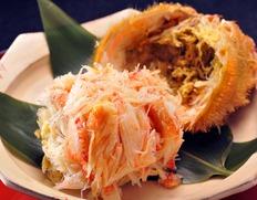 北海道産 毛蟹の甲羅盛(ノンフローズン)のお取り寄せ通販