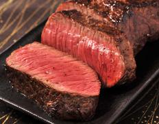 飛騨牛5等級 ランプ肉(ラム芯、ラン細)厚切りブロック 約400g【ウェットエイジング】 ※冷蔵