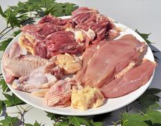10%OFF 村越さんの『青森シャモロック』解体済 正肉(モモ・ムネ・ササミ)1羽分(1.2〜1.4kg) ※冷蔵