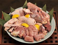 10%OFF 村越さんの『青森シャモロック』解体済 正肉(モモ・ムネ・ササミ)1羽分(1.2〜1.4kg)内臓付 ※冷蔵