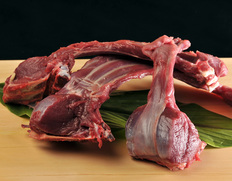伊賀の鹿肉 骨付きアバラ 1.6kg以上 三重県産 ※冷蔵