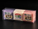 農薬・化学肥料不使用 特別栽培米ササニシキ・有機JAS認証あきたこまち&ひとめぼれセット(各300g)由利本荘産の商品画像