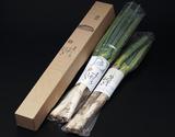 『松代一本ねぎ』長野県産 約1.5kg 1箱(1〜3本入×3袋)の商品画像