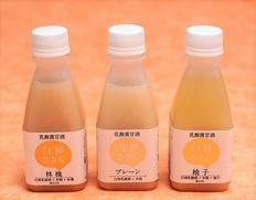 《まとめ買い30本セット》【乳酸菌×米糀から生まれた甘酒】『白神ささら』(プレーン・りんご・ゆず 各10本)