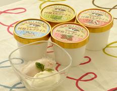 【ASO MILK】『アイスバラエティーセット』ミルク、イチゴ、ヨーグルト、桑の葉、各2個 ※冷凍