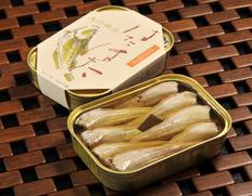 竹中缶詰 天の橋立はたはた油づけ 3缶セット ※常温
