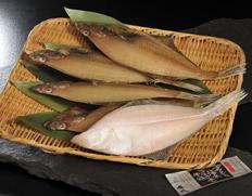 日本海西部産 エテカレイの一夜干し 特大5枚(約28cmサイズ) ※冷凍