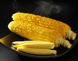 小林さんのトウモロコシ『きみひめ親子セット』約2kg(きみひめ4本+ベビーコーン7〜9本)山梨県産 ※冷蔵の商品画像