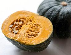 『栗マロンかぼちゃ』北海道産 2玉 3.2kg以上 ※冷蔵