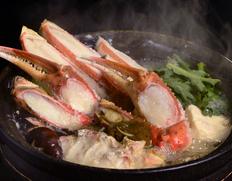 『〆までうまい松葉ガニ夫婦鍋セット』2人前(松葉ガニ特大1200g級1杯・せこ蟹2杯)特製スープ付 ※冷凍