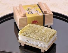 『平目の押し寿司(さかさ寿司)』1人前(約230g) ※冷蔵