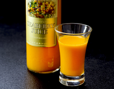 『シーベリー100%果汁』 北海道産 希釈タイプ無糖 300ml×3本