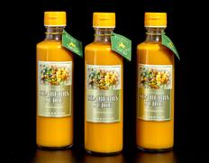 【定期購入】『シーベリー100%果汁』 北海道産 希釈タイプ無糖 300ml×3本