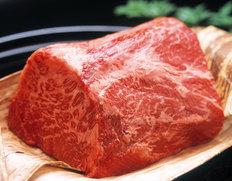 【松阪牛最優秀賞牛】『松阪牛のもも肉ブロック』(マル、内もも限定) 500g [個体識別番号1392577910] ※冷蔵