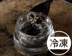 日本産『生キャビア』 15g べステル種、アンデス岩塩使用 化粧箱 ※冷凍