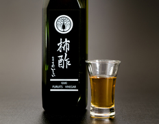 【定期購入】「柿酢」 720ml×2本セット (原料産地:奈良・和歌山)
