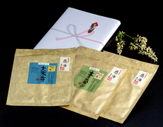 3/30〜4/4出荷 江戸前ちば海苔 慈海ギフトセット(青飛び(あおとび)2袋、大寒芽(だいかんめ)1袋)化粧箱