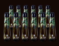 無ろ過・生搾り『茶ノ実油 GOLD TEA OIL』 静岡県産 92g(105ml)×12本【◆】