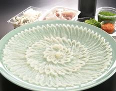 創業記念!10%OFF+煮こごり付 『下関 古串屋の天然とらふくセット』 刺し身、ちり鍋用 5〜6人前 ※冷蔵