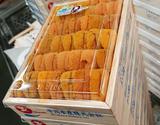 お値打ち『エゾバフンウニ』弁当箱/A品並び  約250g 北海道産 ※冷蔵【豊洲市場直送】の商品画像