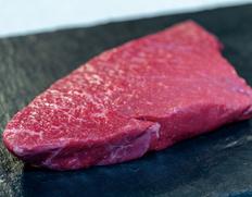 30日熟成 飛騨牛4等級 内ももラウンドステーキ 1ポンド(約450g) ※冷蔵