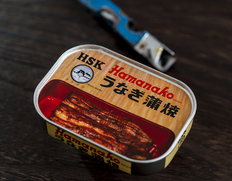 昭和9年創業 浜名湖食品『うなぎ蒲焼缶詰(浜名湖産うなぎ使用)』100g ×1個 ※常温