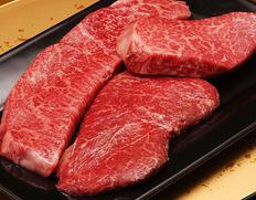 30日熟成 飛騨牛5等級 【イチボ、ランプ、心芯】超レア部位 極上赤身ステーキセット 各150g 【ウェットエイジング】※冷凍