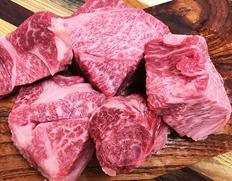【飛騨牛5等級】煮込み用コロコロ切り 大きめカット 約400g ※冷凍
