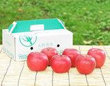 大野農園『完熟サンふじ』約2kg(6玉)福島県石川町産りんご 化粧箱の商品画像