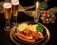 本場ドイツより直輸入『ハライコのクリスマス』フランク詰め合わせ(ソーセージ4種・カリーケチャップ)※冷蔵