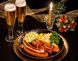 本場ドイツより直輸入『ハライコのクリスマス』フランク詰め合わせ(ソーセージ4種・カリーケチャップ)※冷蔵の商品画像