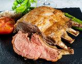 生イベリコ豚ベジョータ『骨つきロース(骨5本分のブロック)』約1kg スペイン産 ※冷蔵の商品画像