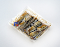 【給食応援】サンマ甘露煮 10切入(1切40〜50g)×2P ※冷凍