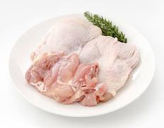 3/25以降、順次出荷 【給食応援】「鹿児県産 若鳥もも肉」2kgパック ※冷凍