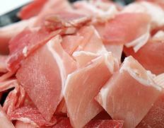 3/25以降、順次出荷 【給食応援】「鹿児県産 豚モモこま切れ肉」2kg(500g×4P) ※冷凍